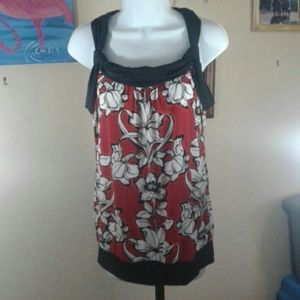 NWT White House Black Market sleeveless top S